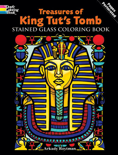 Dover <br />Treasures of King Tut's Tomb Cover