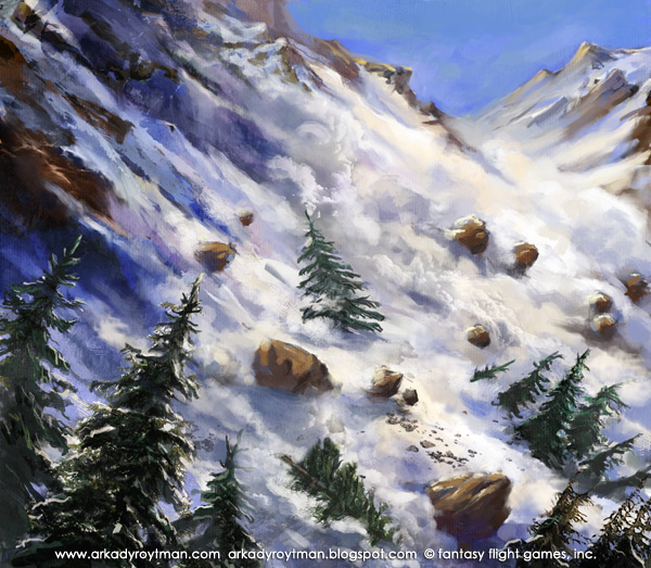 Fantasy Flight's Talisman: Avalanche